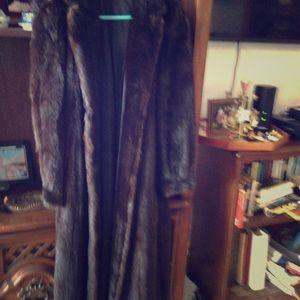 Jackets & Blazers - Black mink coat